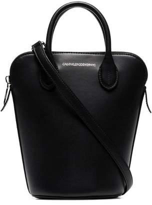 Calvin Klein black Dalton mini leather bucket bag