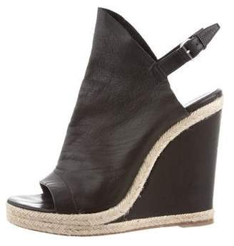 Balenciaga Platform Wedge Sandals