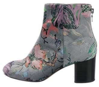 Rag & Bone Drea Floral Ankle Boots