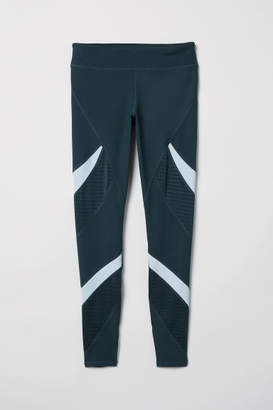 H&M Sports Tights - Turquoise