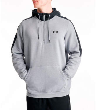 Under Armour Men's Microthread Fleece Half-Zip Hoodie