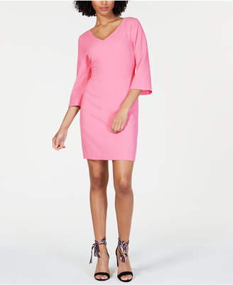 Trina Turk V-Neck Sheath Dress