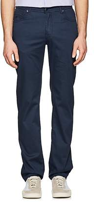 Marco Pescarolo Men's Stretch Cotton-Silk Five-Pocket Pants