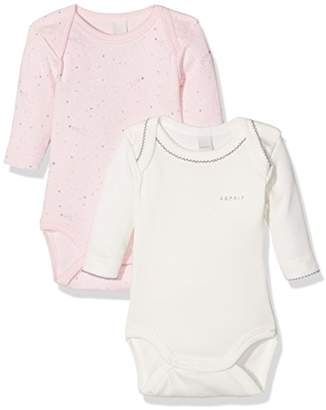 Esprit Baby Girls' Body Bodysuit,(Manufacturer Size: 50),Set of 2