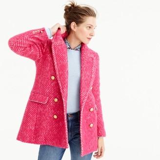 Diamond tweed coat $325 thestylecure.com