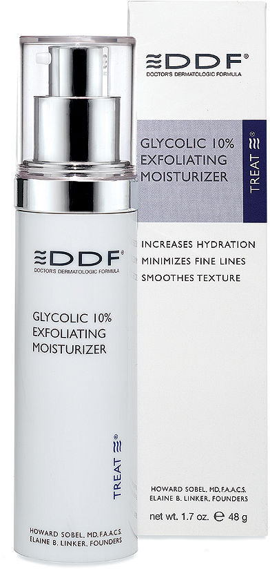 DDF Glycolic 10% Exfoliating Moisturizer 1.7 oz (3048 ml)