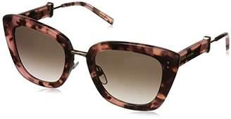 Marc Jacobs Women's Marc131s Cateye Sunglasses
