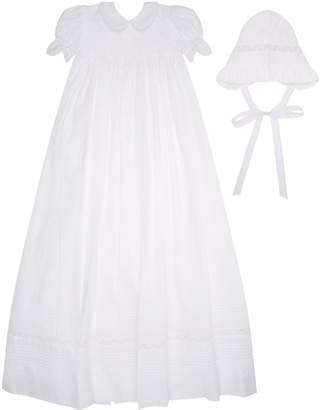 Kissy Kissy Christening Gown and Bonnet