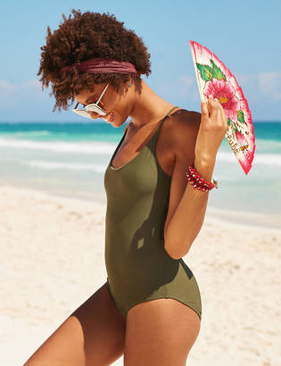 Aerie Lace Back One Piece Swimsuit $54.95 thestylecure.com