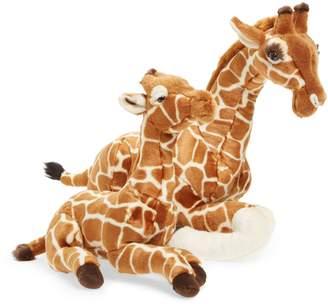 FAO Schwarz Plush Parent & Baby Giraffe Set