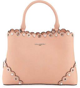 Karl Lagerfeld Paris Elsa Saffiano Leather Satchel Bag