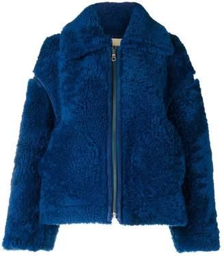 Christian Wijnants zip front jacket