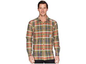 Polo Ralph Lauren Madras Compass Long Sleeve Sport Shirt
