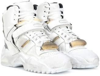 Maison Margiela Retro Fit leather high-top sneakers