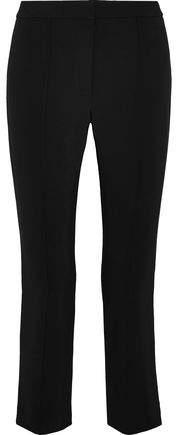Cropped Cady Slim-Leg Pants