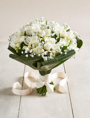 Marks and Spencer White Rose & Freesia Large Wedding Party Package