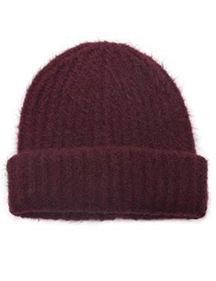 at Amazon.com · Under Zero Women s Warm Knitted Rib Beanie Hat 504fc5774e5