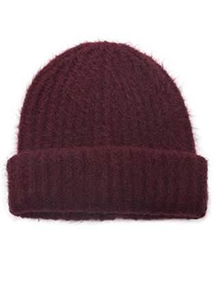 at Amazon.com · Under Zero Women s Warm Knitted Rib Beanie Hat edc470592a6