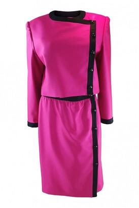Lanvin Pink Silk Jackets