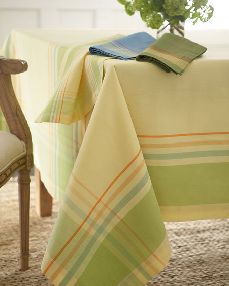 Border Stripe Table Linens