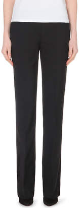 Theory Max straight-leg stretch-wool trousers