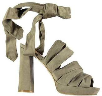 Jeffrey Campbell Womens Chablis Heeled Sandals Summer Casual Platform Shoes