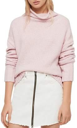 AllSaints Bay Funnel-Neck Sweater
