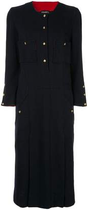 Chanel Pre-Owned long sleeve one piece skirt