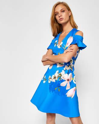 Ted Baker AMBRE Harmony cold shoulder dress