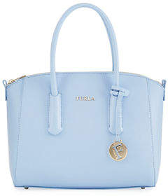 Furla Tessa Small Saffiano Leather Satchel Bag