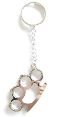 Unbranded Brass Knuckle Keychain