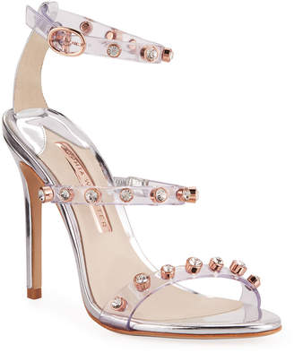 Sophia Webster Rosalind Gem Leather Sandals