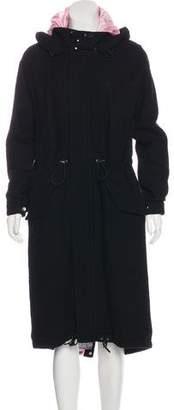 Julien David Layered Wool Coat