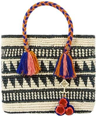 Yosuzi Kali Straw Tote Bag