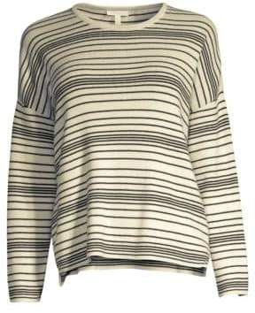 Eileen Fisher Striped Box Top