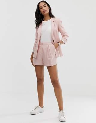 Asos Design DESIGN linen a-line shorts