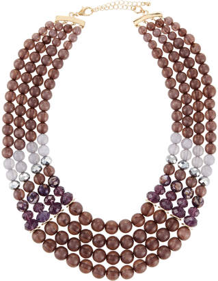 Lydell NYC Multi-Strand Bead Necklace