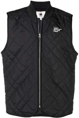 G Star Research quilted vest