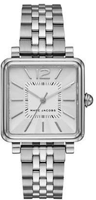 Marc Jacobs Vic Silvertone Bracelet Watch