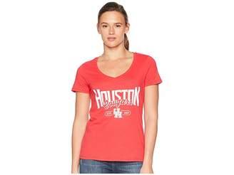 Champion College Houston Cougars University V-Neck Tee
