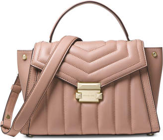 Michael Kors Whitney Quilted Top-Handle Satchel