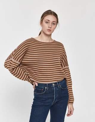 Need Danika Oversized Stripe Sweater
