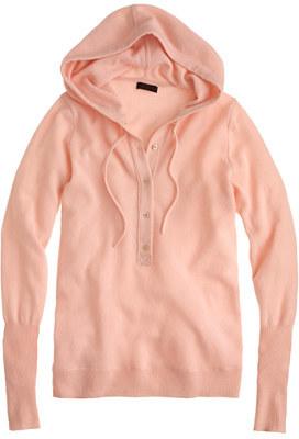 J.Crew Italian cashmere getaway hoodie