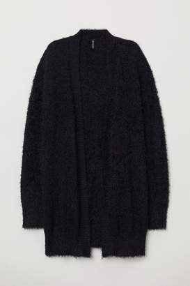 H&M Fluffy Cardigan - Black