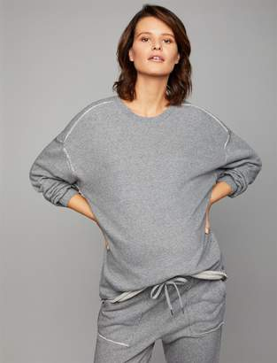 Splendid Pea Collection Stripe Detail Maternity Pull Over