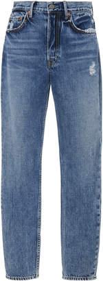 GRLFRND Denim Karolina Cropped High-Rise Skinny Jeans