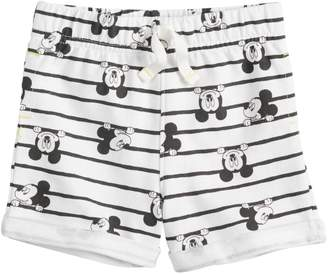 Disneyjumping Beans Disney's Mickey Mouse Baby Girl Printed French Terry Shorts by Jumping Beans
