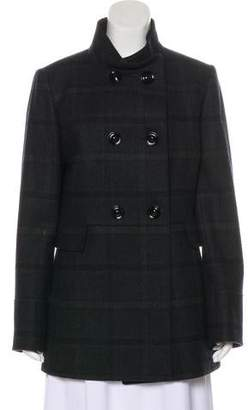 Cinzia Rocca Virgin-Wool Double-Breasted Short Coat w/ Tags