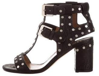 Laurence Dacade Leather Studded Sandals