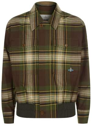 Vivienne Westwood Tartan Bomber Jacket